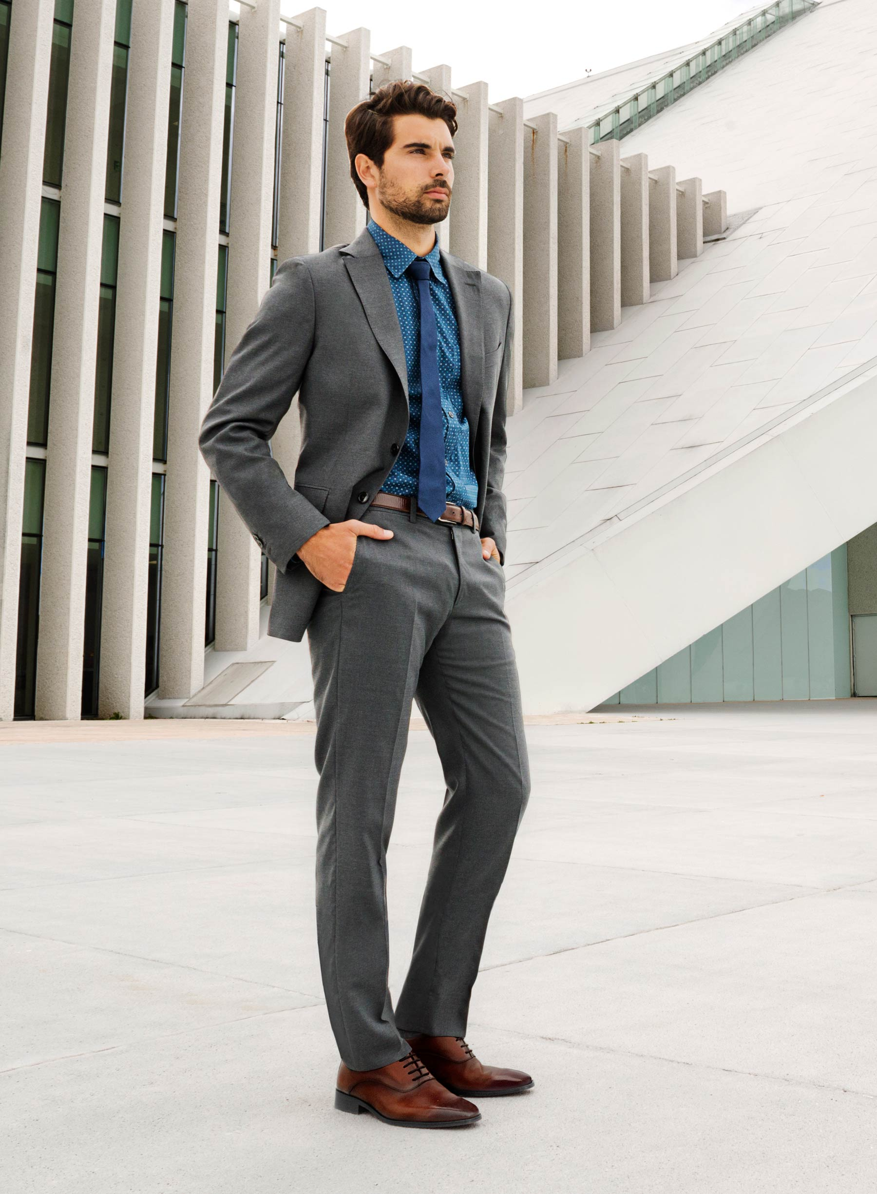 Tips para lucir perfecto en una boda blog ferrato - Colores para combinar con gris claro ...